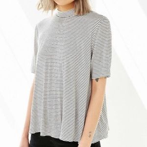 Urban Outfitters cooperative mock neck T-shirt